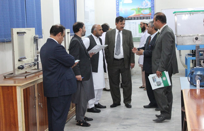 PEC visit to Abasyn University Peshawar, 2017