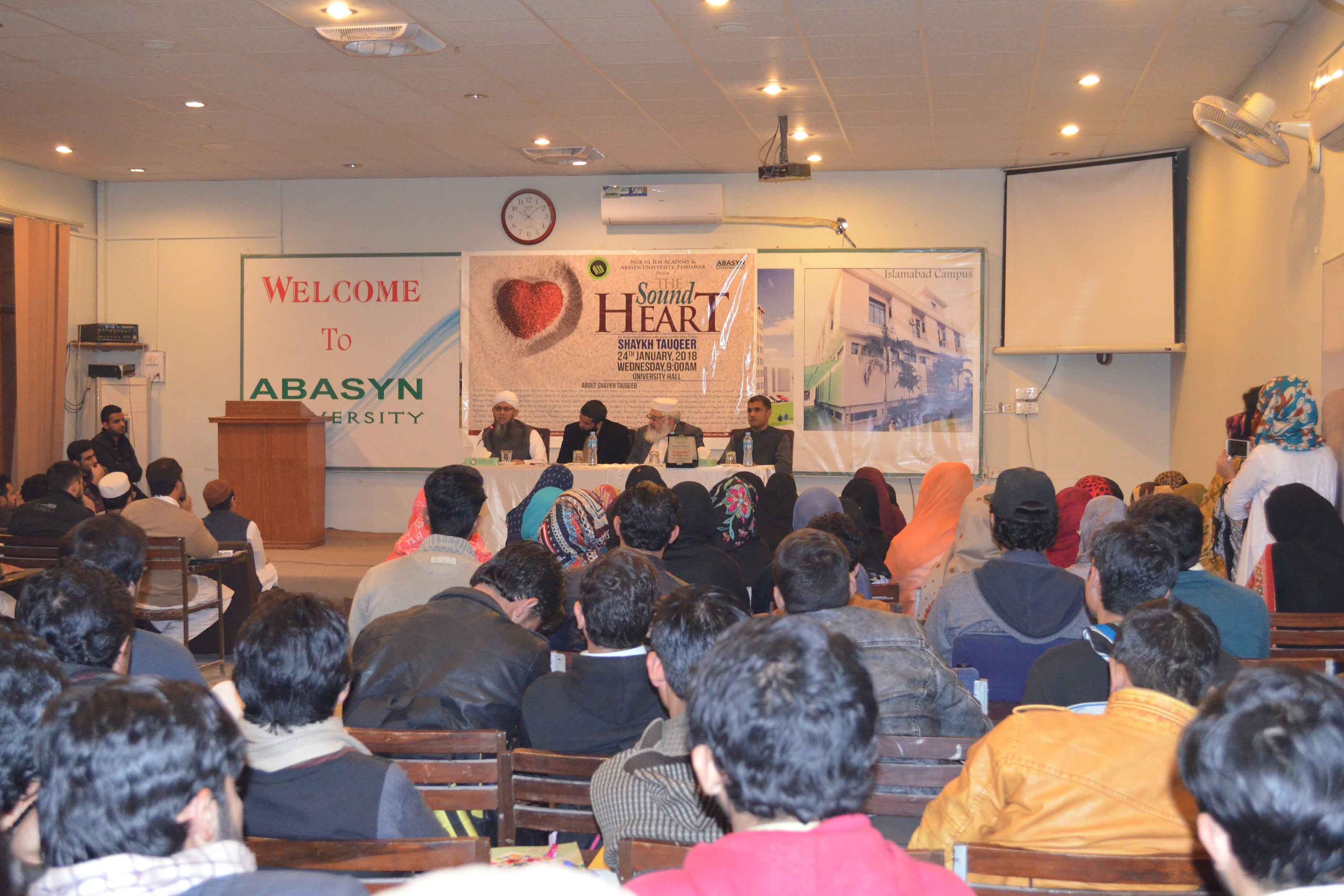The Sound Heart an Inspirational speech by Shaykh Tauqeer