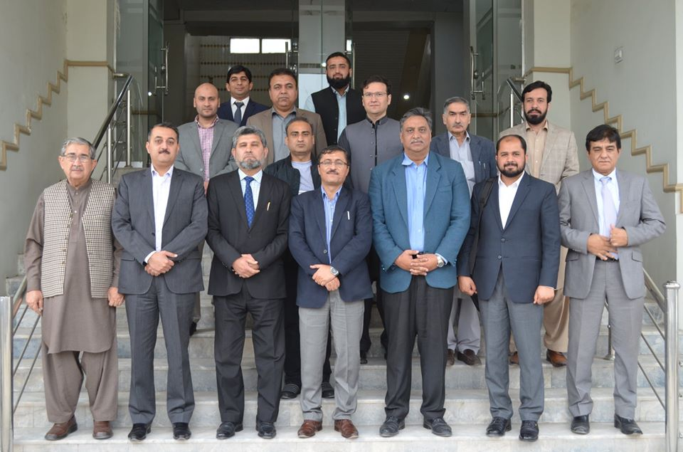 National Business Education Accreditation Council (NBEAC) team visited Abasyn University
