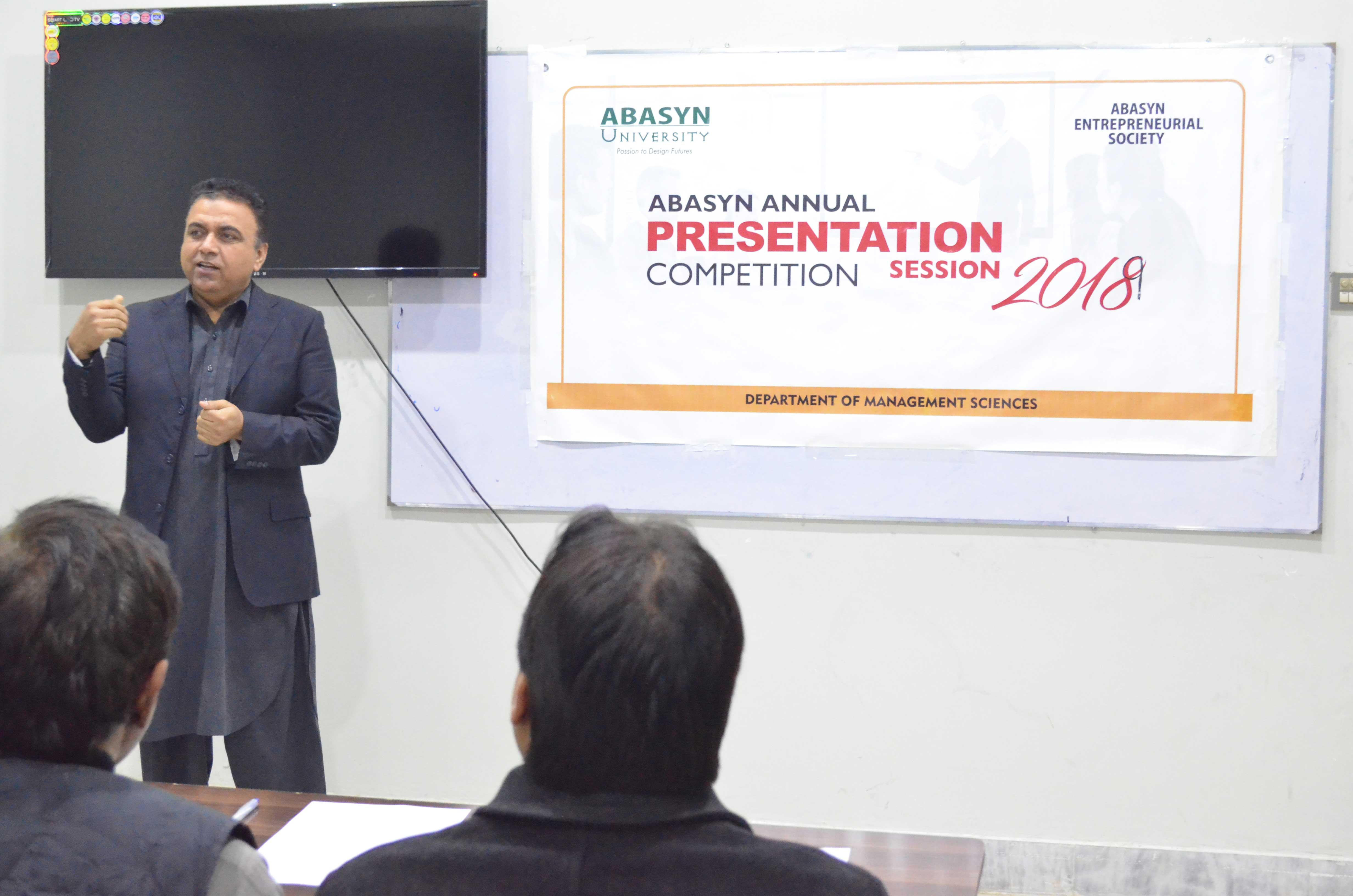 Abasyn Annual Presentation competition 2018
