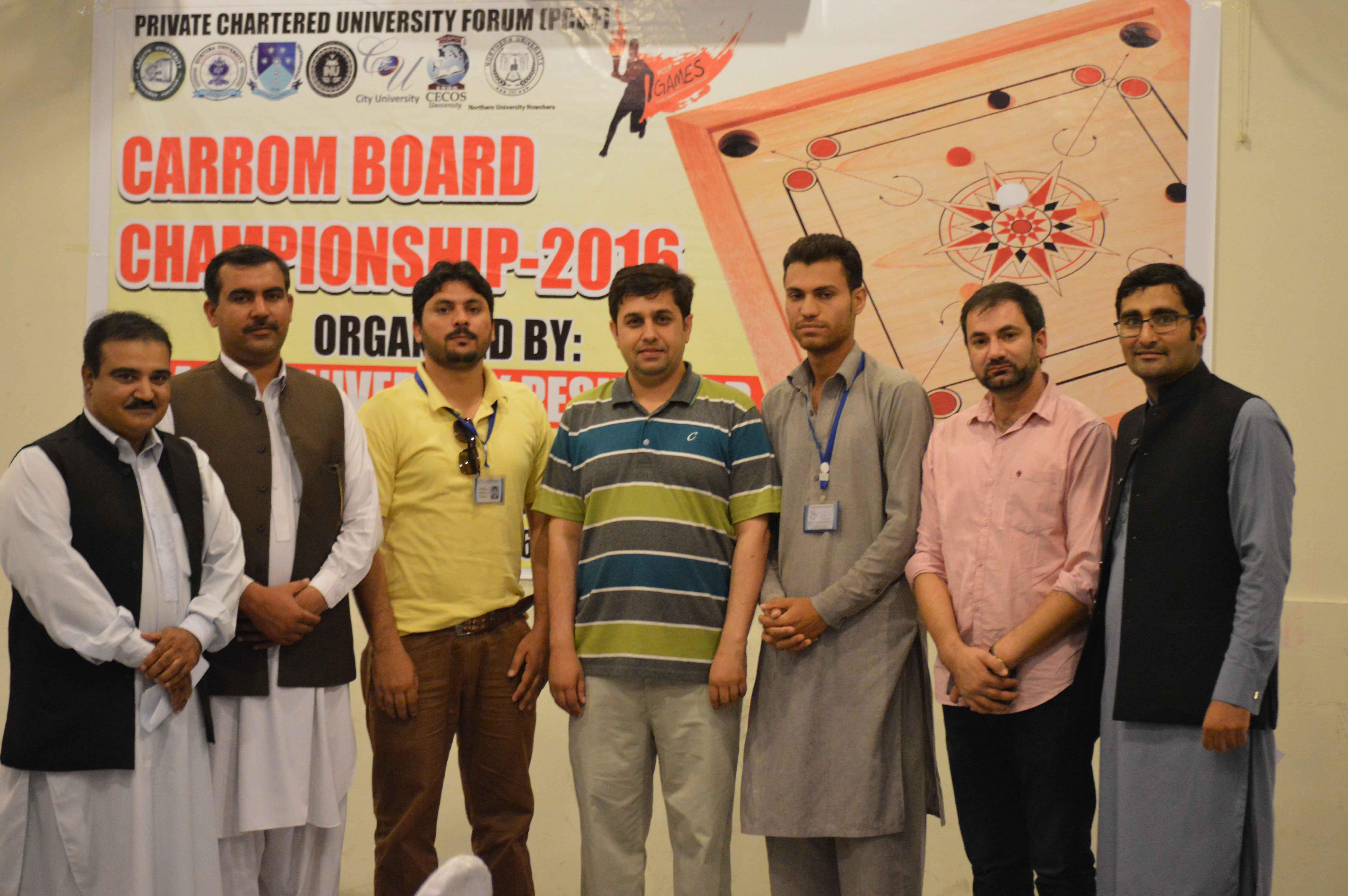 Carrom Board Championship 2016
