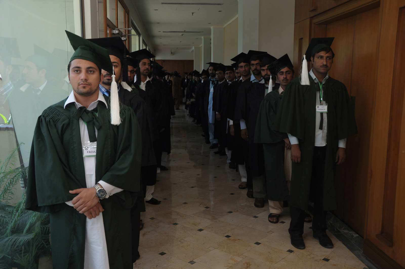 1st Convovation of Abasyn University