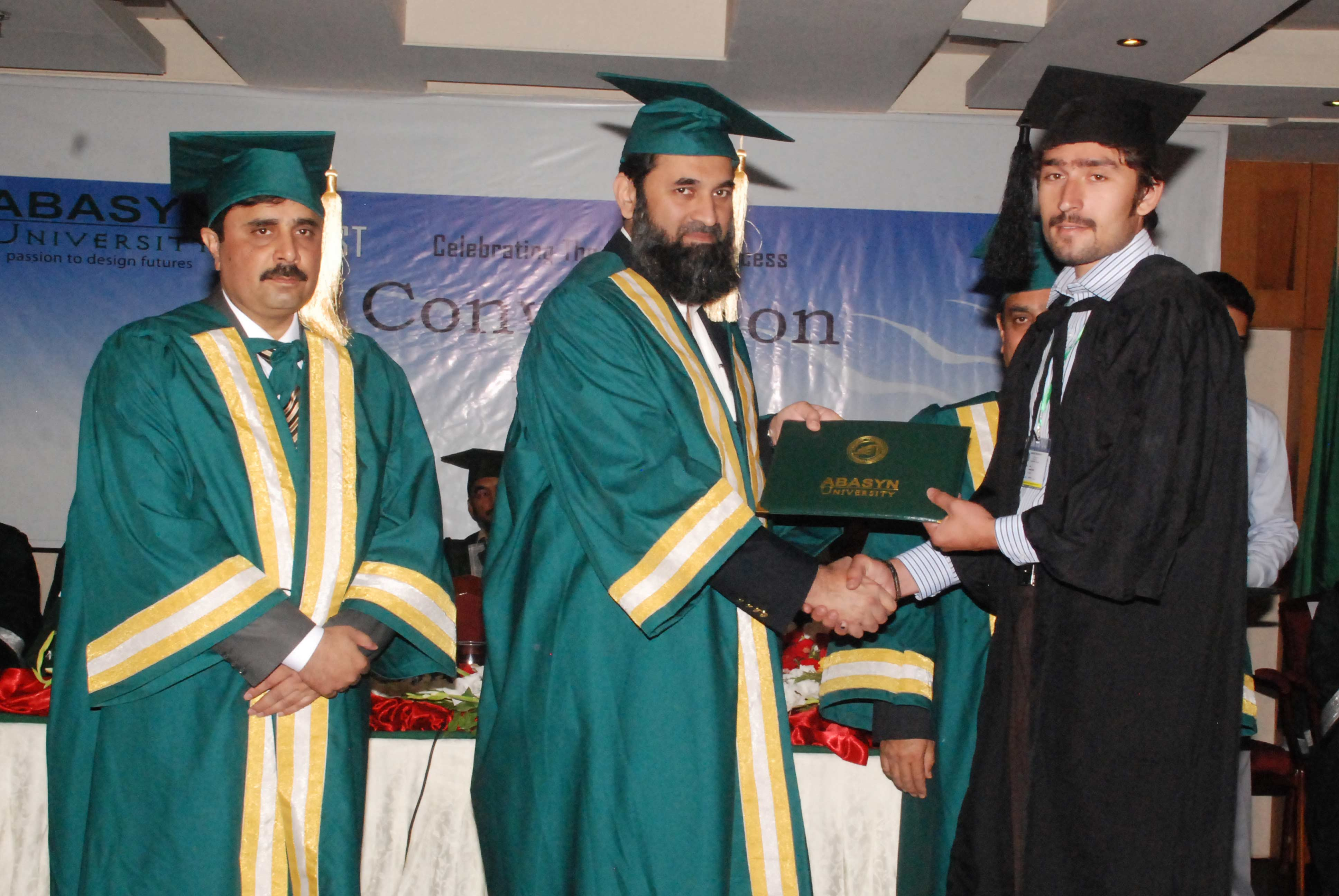 First Convocation of Abasyn University