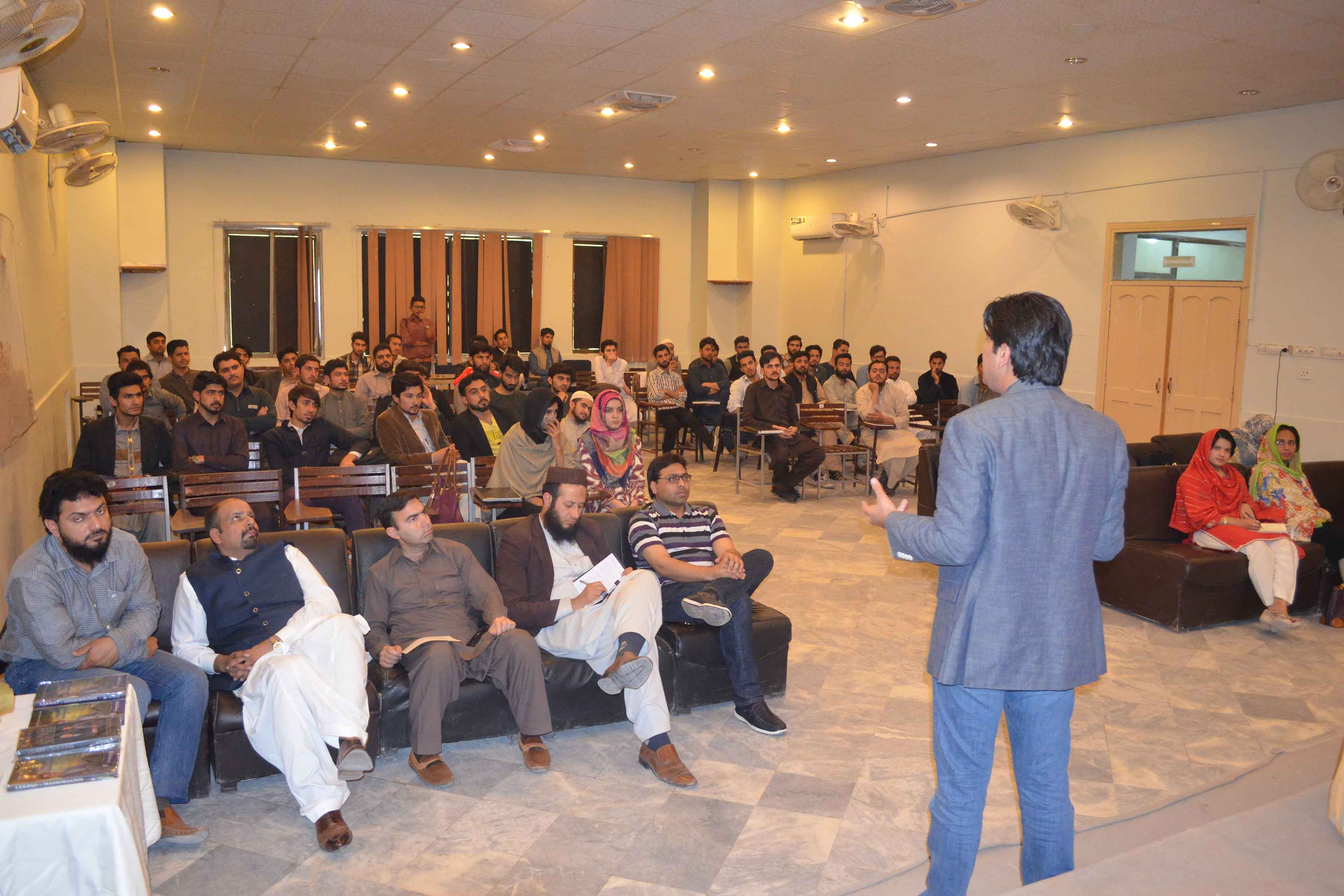 A seminar on How to crack the code to success and become a master entrepreneur