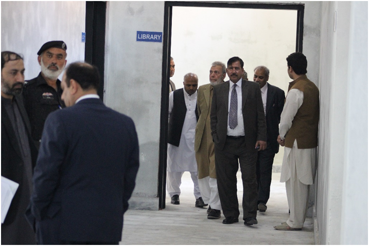 Visit to the Newly Constructed Engineering Block
