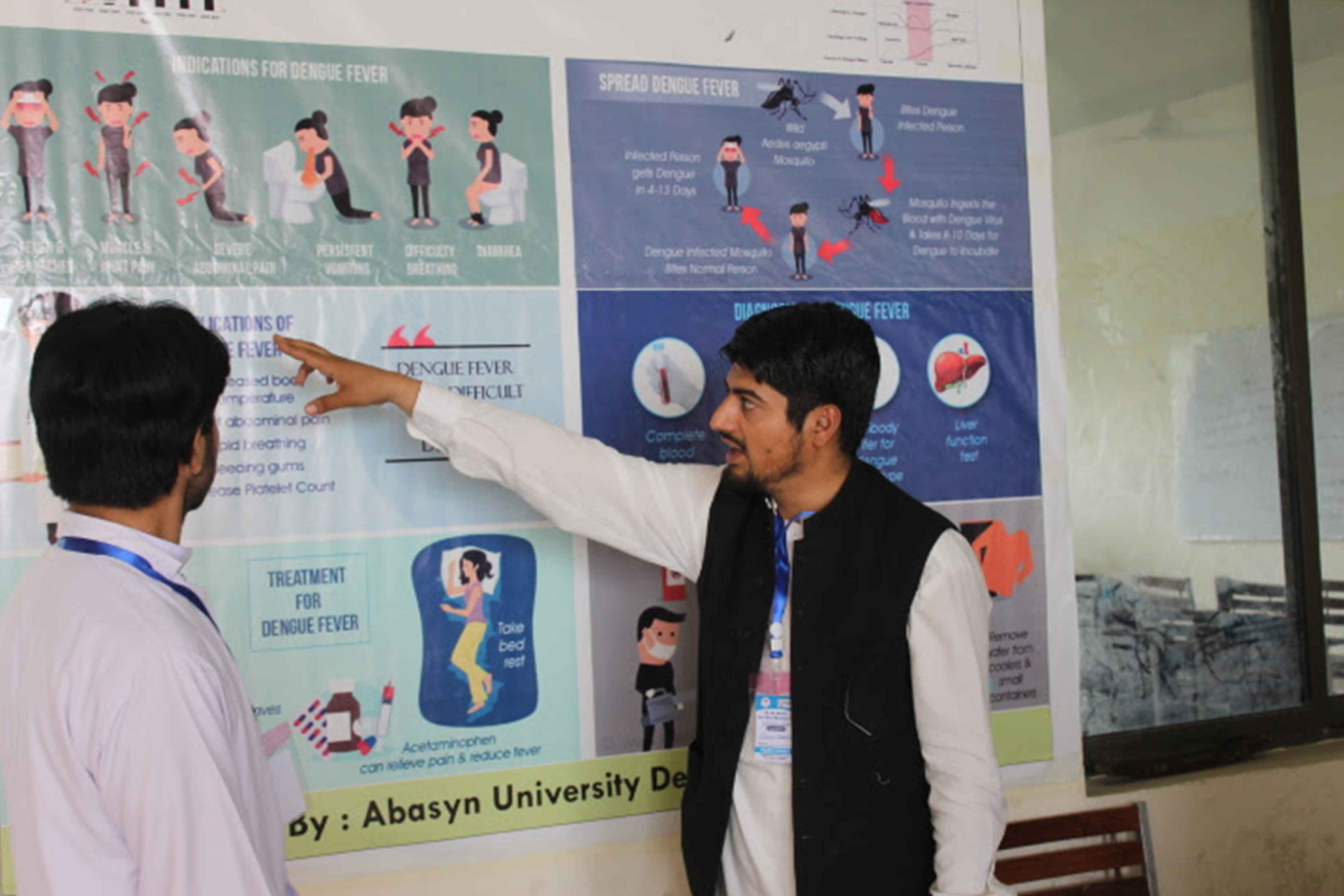 Poster Presentation At University of Swabi